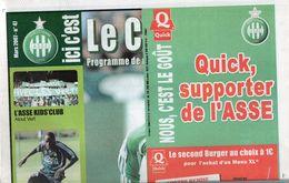 ICI C'est Le Chaudron  N°47 Du 17 Mars 2007  ASSE / Troyes - Uniformes Recordatorios & Misc