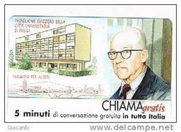 CHIAMAGRATIS - 120 PERSONAGGI PER IL PROGRESSO DELL' UMANITA'(111):  C. E. J. LE CORBUSIER             - NUOVA  (RIF.CP) - Italy