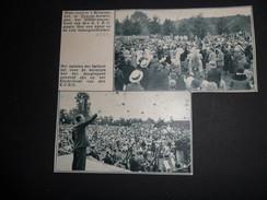 Origineel Knipsel ( 694 ) Uit Tijdschrift  :  Deurne  1934 - Sin Clasificación