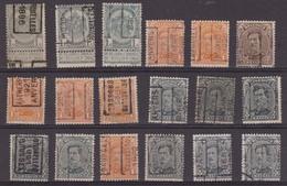 België/Belgique  Preo  Handrol/roulette Samenstelling/composition 18 Zegels/timbres. Tussen/entre N° 48B - 2894A. - Préoblitérés