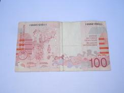 --------1 Billet Belge 100 Francs Ansor Belgique(( Non-Date-1995 ))------- - [ 2] 1831-... : Belgian Kingdom