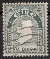 109 Irlanda 1940 Map Of Ireland - Mappa Dell'Irlanda Used (mm 18x22) - 1937-1949 Éire