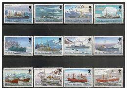 Antartico Britannico/British Antarctic/Antarctique Britannique: Navi Polari, Navires Polaires, Ships Polar - Navi Polari E Rompighiaccio