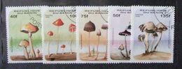 Benin 1996 Mushroom Flora Plant Plants Mushrooms Fungi Champignons Nature Stamps Used Mi 849-854 Scott 849 (one Missing) - Benin - Dahomey (1960-...)