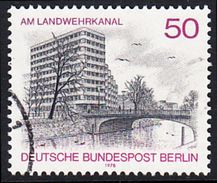 !b! BERLIN 1978 Mi. 579 USED SINGLE (b) - Berlin Views: Shell-House At Landwehrkanal - [5] Berlin