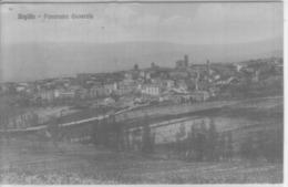 VENDO N.1 CARTOLINA DI SIGILLO(PG)PANORAMA GENERALE,FORMATO PICCOLO VIAGGIATA NEL 1912 CON FRANCOBOLLO - Perugia