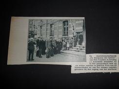 Origineel Knipsel ( 725 ) Uit Tijdschrift  :  Sint Truiden  Saint Trond  Harmonie   1934 - Unclassified