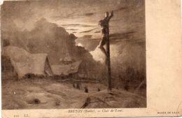 BRETON Emile - Clair De Lune (99821) - Peintures & Tableaux