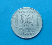 ALBANIA - ITALIA 0.50 LEK 1941 - Albanie