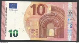 """Greece  """"Y"""" 10  EURO UNC! Draghi Signature!!  """"Y""""   Printer  Y008D2 UNC! - 10 Euro"""