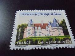 Chateau De Puyguilhem (2012) - Oblitérés