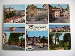 BRACCIANO     LAZIO - ROMA -     VIAGGIATA  COME DA FOTO - Autres