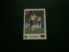 """Autocollant """" La Vache Qui Rit """" World Cup Usa 94 """" Jurgen Klinsmann """" - Autocollants"""