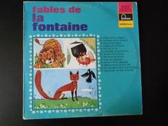 33 TOURS FABLES DE LA FONTAINE FONTANA 826560 QY LE CHENE ET LE ROSEAU / LE CORBEAU ET LE RENARD + 11 - Children