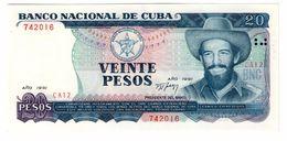 Kuba 20 Pesos 1991 UNC - Cuba