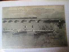 Avignon ;   Manoeuvres De Pontage Par Le  7 Ieme Genie ; - Avignon (Palais & Pont)