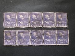 UNITED STATE EE.UU ÉTATS-UNIS US USA 1938 PRESIDENT - Usados
