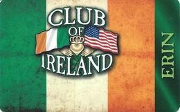 Club Of Ireland - Las Vegas, NV - Casino Player Reward / Slot Card - Casino Cards