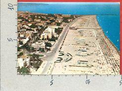 CARTOLINA VG ITALIA - RIMINI - La Grande Spiaggia Vista Dall'aereo - 10 X 15 - ANN. 1962 - Rimini