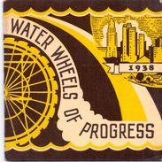 Brochure Dépliant Toerisme Tourisme - Water Wheels Of Progress - Water Supply Los Angeles USA - 1781 - 1938 - Dépliants Touristiques