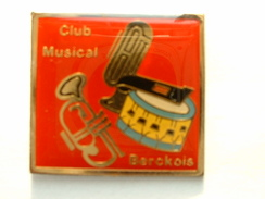 PIN'S HARMONIE - CLUB MUSICAL BERCKOIS - BERCK - Music