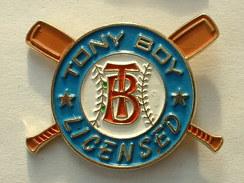 PIN'S BASEBALL - TONY BOY LICENSED - Baseball
