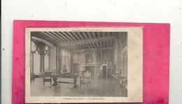 EXCURSION EN FRANCHE-COMTE . CHATEAU DE BOURNEL . LE GRAND SALON . AFFR EN 1904 . 2 SCANES - Frankreich