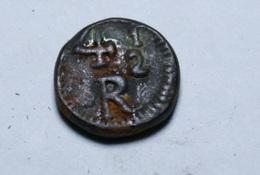 Portuguese India . 4 1/2 Reis 1848 .copper - Inde
