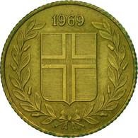 Iceland, 50 Aurar, 1969, TTB, Nickel-brass, KM:17 - Island