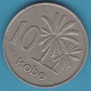 NIGERIA 10 KOBO 1973 KM# 10 - Nigeria