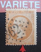 LOT R1631/1821 - NAPOLEON III N°23 - LGC - VARIETE ☛ Barre Centrale Du E De POSTES Oblique Et Reliée Au S - 1862 Napoleon III