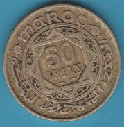 MAROC 50 Francs 1371 (1952) Mohammed V - Morocco