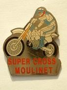PIN'S MOTO  SUPER CROSS MOULINET - MOTUL - Motorbikes