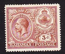 Bahama, Scott #68, Mint Hinged, George V And Seal Of Bahamas, Issued 1920 - Bahamas (...-1973)