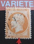 LOT R1631/1825 - NAPOLEON III N°23 - LGC - VARIETE ☛ Excroissance Sur Le E De POSTES - 1862 Napoleon III