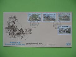 FDC  Hong - Kong  1987 - FDC