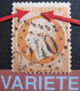 LOT R1631/1828 - NAPOLEON III N°23 - GC 2240 MARSEILLE - VARIETE ☛ Ergot Sur Le P De EMPIRE + Perle Sous Le E - 1862 Napoleon III
