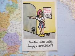 Direction Saint-Ouen Changez à Changement - Effel