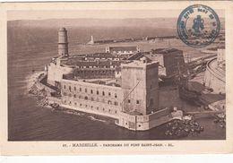 Cp , 13 , MARSEILLE , Panorama Du Fort Saint-Jean - Sonstige