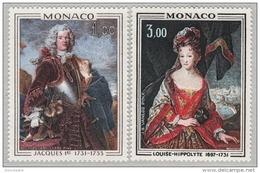 MONACO 1973 - SERIE N° 914 Et 915 - 2 TP NEUFS** - Monaco