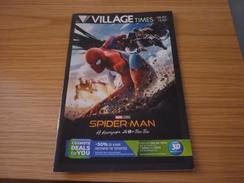 Spiderman: Homecoming Cinema Movie Program Programme From Greece - Programmi