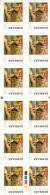 Denmark MNH Scott #1479a Booklet Of 12 5.50k Album Cover For Gasolin' 3 By Gasolin' - Denmark
