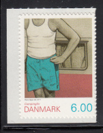 Denmark MNH Scott #1527 Booklet Single 6k Man, Camper - Camping - Neufs