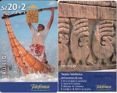 TARJETA TELEFONICA DE PERU. TRUJILLO. (212) - Peru