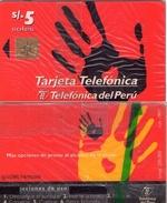 TARJETA TELEFONICA DE PERU. (NUEVA) (215) - Peru