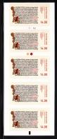 Denmark MNH 2014 Booklet Of 5 14k Njals Saga - Manuscripts - Denmark