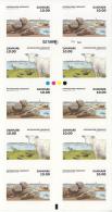 Denmark MNH 2015 Booklet Of 10 10k Sheep, Seal - Wadden Sea National Park - Denmark