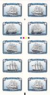 Denmark MNH 2015 Booklet Of 10 2 Each Of 5 Sailing Ships - Danemark