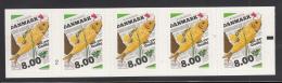 Denmark MNH 2016 Booklet Of 5 8k Fish On Newspaper Nordic Cuisine - Danemark