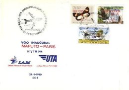 MOZAMBIQUE, Cachet 24-09-80 - Mozambique